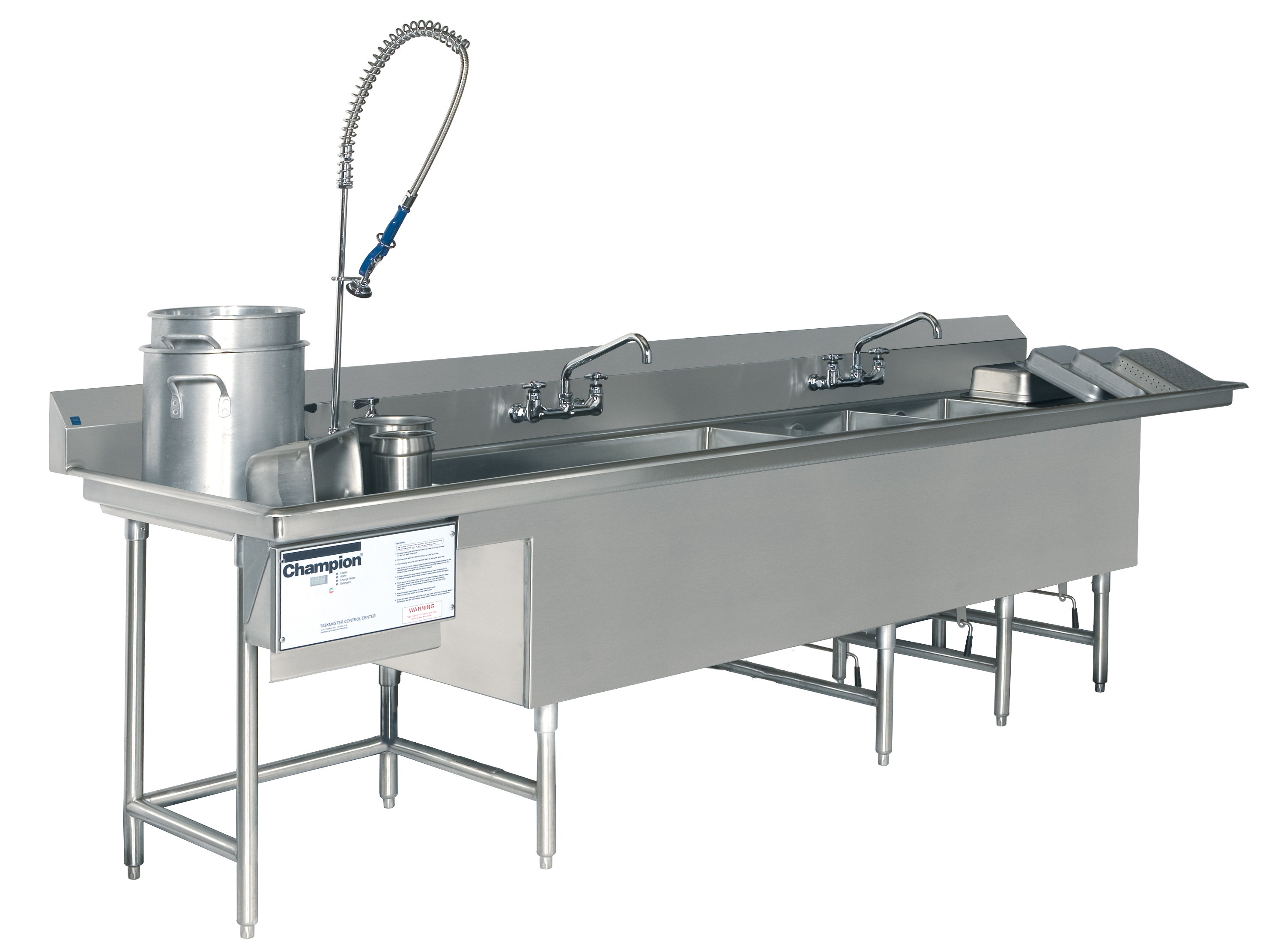 Commercial Kitchen Pot Washer